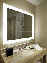 Hilton hotel project bathroom mirror with 3000/6000K LED light