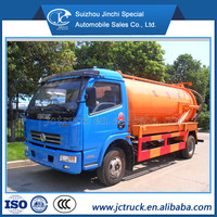 Factory Price Septic 6000 liters Tank Vacuum Sewage Suction Truck, vacuum pump suction sewage truck
