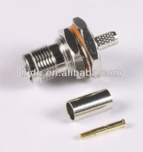 TNC female B/H crimp RG58 / ROHS / TNC connector