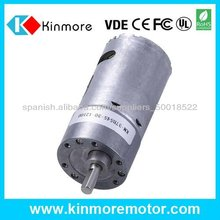 37mm 24V motor de corriente continua