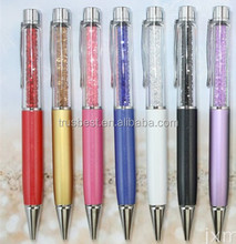 TCR-07 fat crystal ballpoint pen for gift , promotional crystal metal ball pen