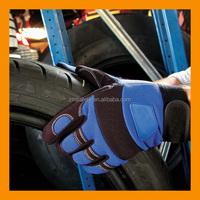 Custom Leather Craft Flex Grip Handyman Gloves
