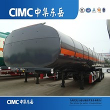 CIMC Lube / Lubricating Oil / Lubricant Oil Loading and Transporting Fuel Tanker Semi Trailer