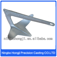 Marine Equipment Steel Anchor For Boat/Steel Casting Ship Spare Parts