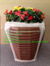 Orta/büyük boyutu hdpe plastik saksı bahçe/sokak/park/balkon/villa/plaza dekorasyon( c- 3)
