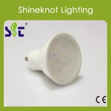 Mr16 GU10 SMD 5W Spotlight Warm White Aluminum+Pla CE RoHs Housing