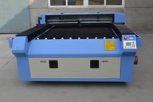 China Rabbit 1325 flat bed 80w cnc laser cutting machine