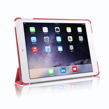 PU Leather Cover For iPad Air 2 Gen 6th Folio Ultra Slim Skin For iPad Air 2 Smart Case For Tablet Cover Aypad