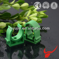Heat resistant materials plastic commodity clothes clamp mold ppr u type pipe calmp fitting
