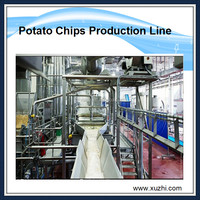 Industrial automatic potato chips machine potato chips production line price China