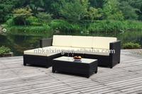 5 pieces Outdoor living rattan sofa