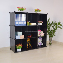 Hot luxury easy assemble magic diy folding portable cube pp storage (YK-1009)
