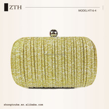 ladies fashion bags high quality fold marks evening clutch box