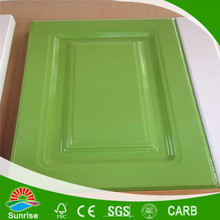China supplier pvc kitchen cabinet door for export with high quality