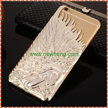 wholesale angel wind metal hard pc back cover case for iphone6/6s