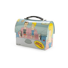 Beavis and Butthead Metal Tin Lunch Box Gum Cool Vintage New Carrier Worksman
