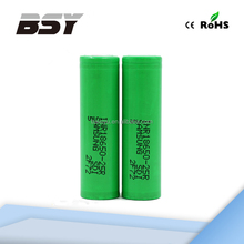 Directly selling high discharge lithium samsung 25r / samsung 18650 25r 3.6V 2500mAh li ion battery cell / samsung 18650 battery