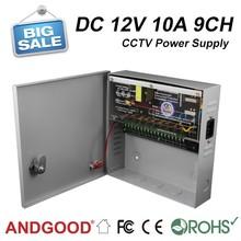 SIWD1210-09C 12v 10amp 9 channels cctv power for camera
