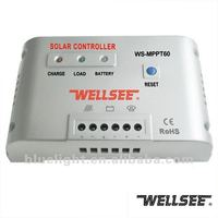 12V/24V mppt tracer solar photovoltaic charger controller regulator WS-MPPT60 40A/50A/60A