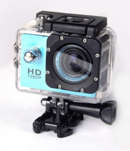Hot sale Full hd 1080p wifi sports action camera, outdoor sports camera with built-in battery, waterproof