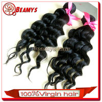 Beamyshair natural color 28 inch 3pcs/set last for long time 100% unprocessed shenzhen hair