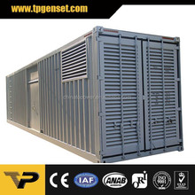 40ft container 4012-46TWG2A Made in UK 1250kva powered by perkins 1000kw diesel generator power plant