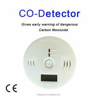 Home Security Safety CO Gas Carbon Monoxide Alarm Detectors With Retail Box CO Gas Alarm System