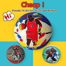logo could be printed mini ball,pvc pu basketball