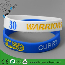 Adjustable silicone wristbands cavaliers/the team basketball silicone bracelet/Wrist band