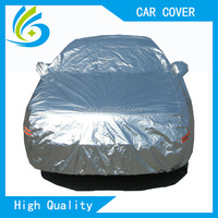 heated inflatable padded fabric car cover hail , car cover sun protection