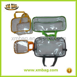 Transparent PVC Bag fitted rubber band