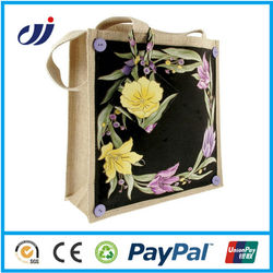 High quality waterproof tote jute bag
