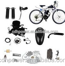 motorized bicycle kit gas engine, kit motor bicicleta 80cc