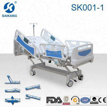 SK001-1 Remote Control Hospital Electric Motor Bed,Five Function Electric Home Care Hospital Bed