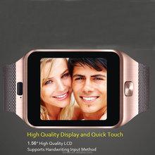Touch screen 2.0MP Camera smartwatch dz09 smart watch phone