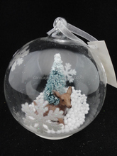 Wholesale discount christmas ball ornament with led lights