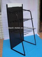 hot sale supermarket display metal catalog rack