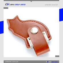 promotion item bulk 512mb usb flash drives leather