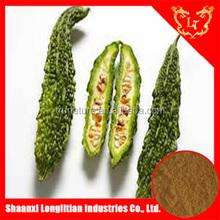 High quality balsam pear fruit extract powder /Bitter melon P.E. /20% charantin