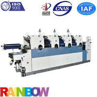 weifang used komori offset printing machine with numbering and perforating