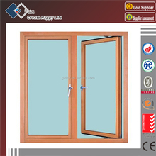 Cheap promotional single glazing aluminium casement window
