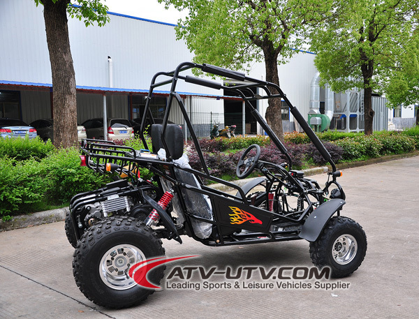 New china 150cc pas cher deux places go kart chinois for Go kart interieur