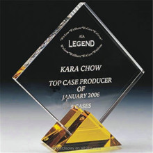 Best price high quality acrylic plaques and trophies, acrylic award