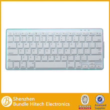 Hot selling white computer keyboard, bluetooth keyboard for computer, wireless keyboard