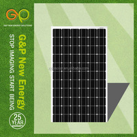 high efficiency cheap solar panels china with CE/CEC/TUV/ISO 285W