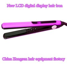 Professional barber salon equipment custom electric ionic hair flat irons