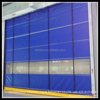 steel curain material high performacne automatic folding gate