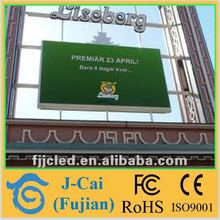 Full Color Fixed Installation Outdoor Advertising Giant Led Displays