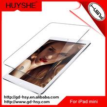 HUYSHE 9h clear smart phone screen protector for ipad MINI