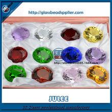 2015 hot sale machine cut gemstones diamonds